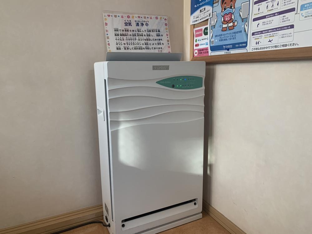 空気清浄機(待合室②)